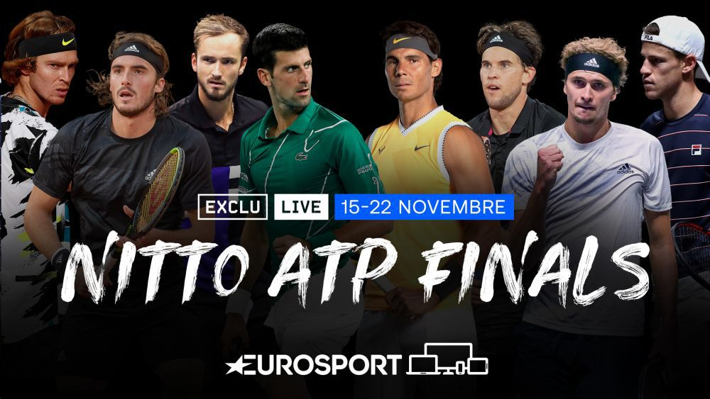 Tennis - Les Nitto ATP Finals en direct et en exclusivité sur Eurosport