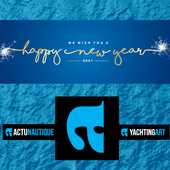 Best Wishes to all from the ActuNautique Yachting Art team! - Yachting Art Magazine