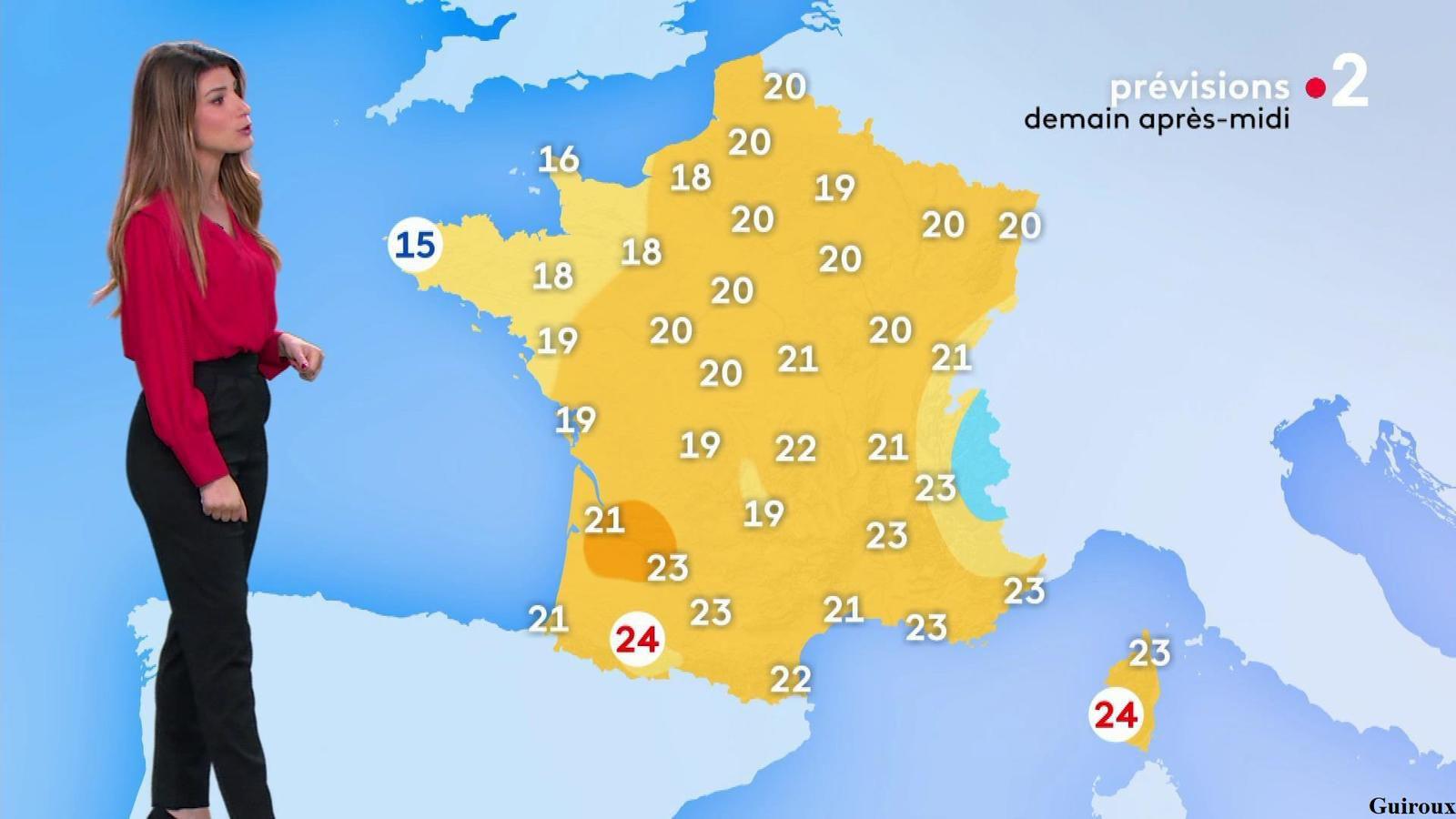 Chloé Nabédian 29/09/2020 Journaux météo du soir
