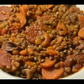 Recette cookeo lentilles chorizo weight watchers