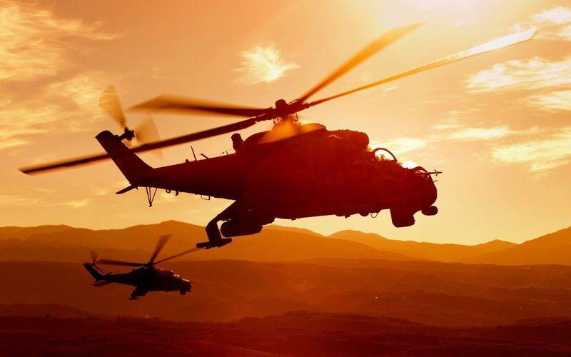 Un hélicoptère Mi-24 Hind russe s'est écrasé en Syrie