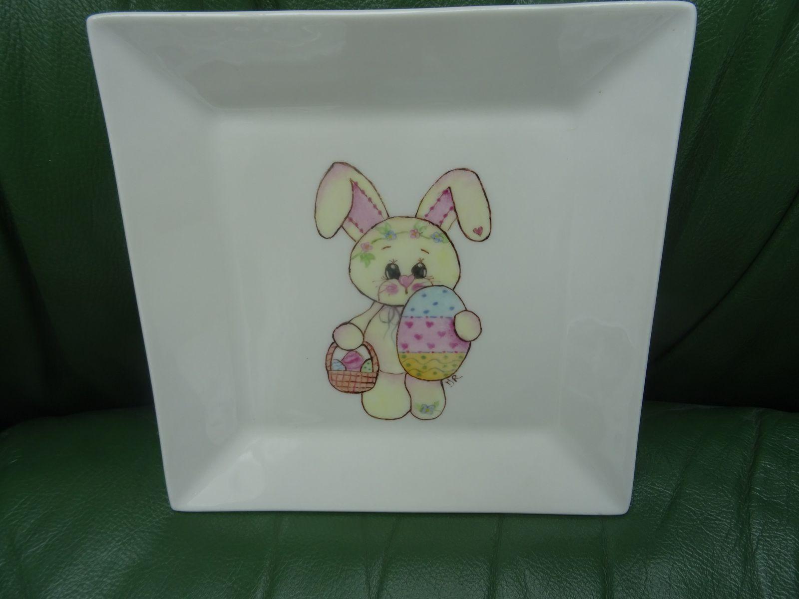 porcelaine pour Paques et autres gourmandises