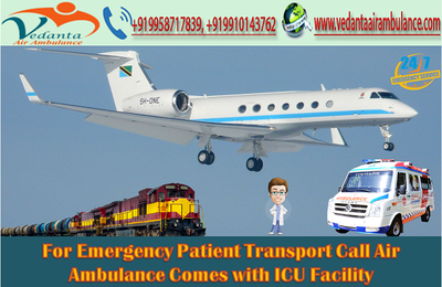 For Emergency Patient Transport Call Air Ambulance in Delhi Comes with ICU Facility