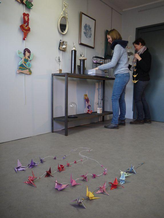 4 créatrices pour les fêtes exposent à la galerie de l'Atelier