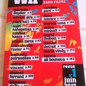 WIP Littérature sans filtre - Les lectures de Martine (et plus)
