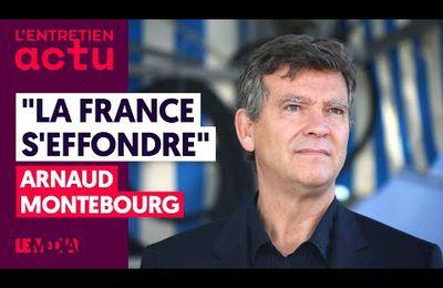 VIDEO : Arnaud MONTEBOURG : « Mon PARTI c'est la FRANCE »