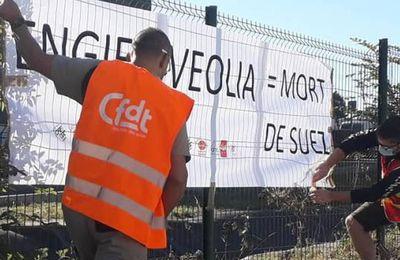 Offre de rachat de SUEZ par VEOLIA : Mediapart pointe le rôle ambigu de la CFDT