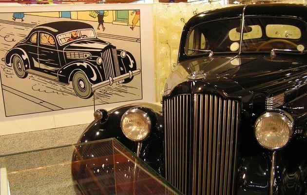 Tintin et les voitures: la PACKARD Six Club Coupé