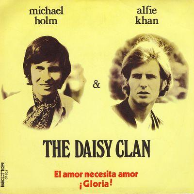 """the daisy clan, un duo symbolisé par michael holm et alfie khan alias joachim heider, spécialistes de la musique """"schlager"""""""