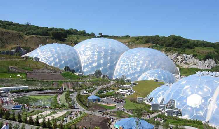 Eden project, la nature autrement