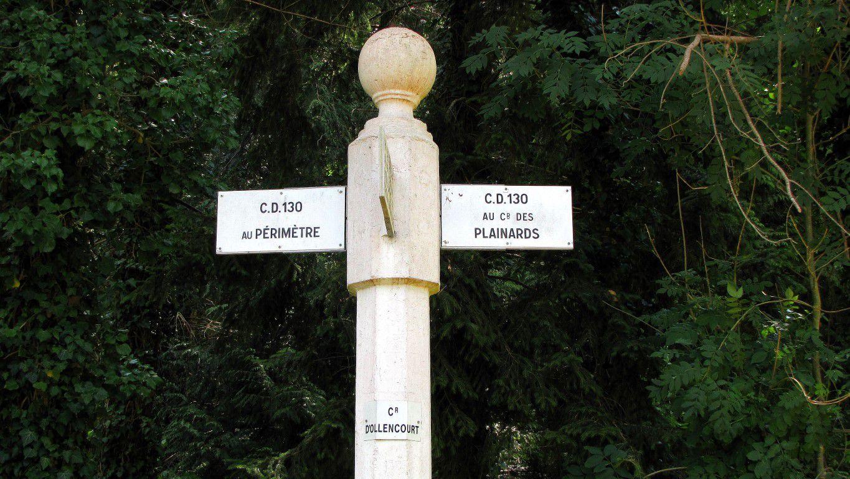 le carrefour d'Ollencourt