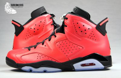 Nike Air Jordan VI rétro Infrared 23