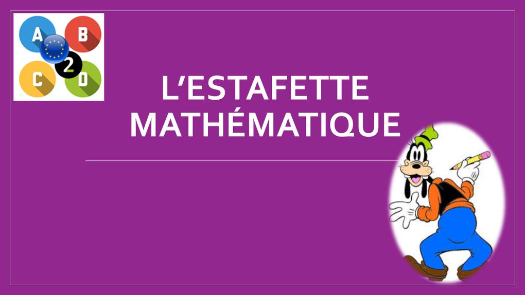 CN L'estafette mathématique - Roumanie, primaire