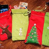 Mini Gift Pouches from Napkins - Pretty Handy Girl