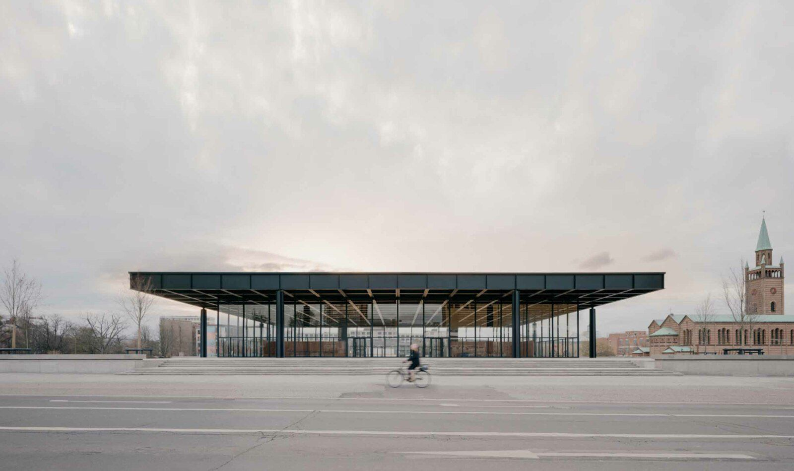NEUE NATIONALGALERIE REFURBISHMENT COMPLETED BY DAVID CHIPPERFIELD ARCHITECTS