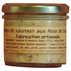 Fish rillettes made in France