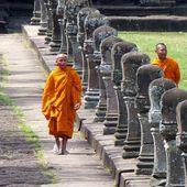 Vu au Temple (18-09) - Noy et Gilbert en Thaïlande