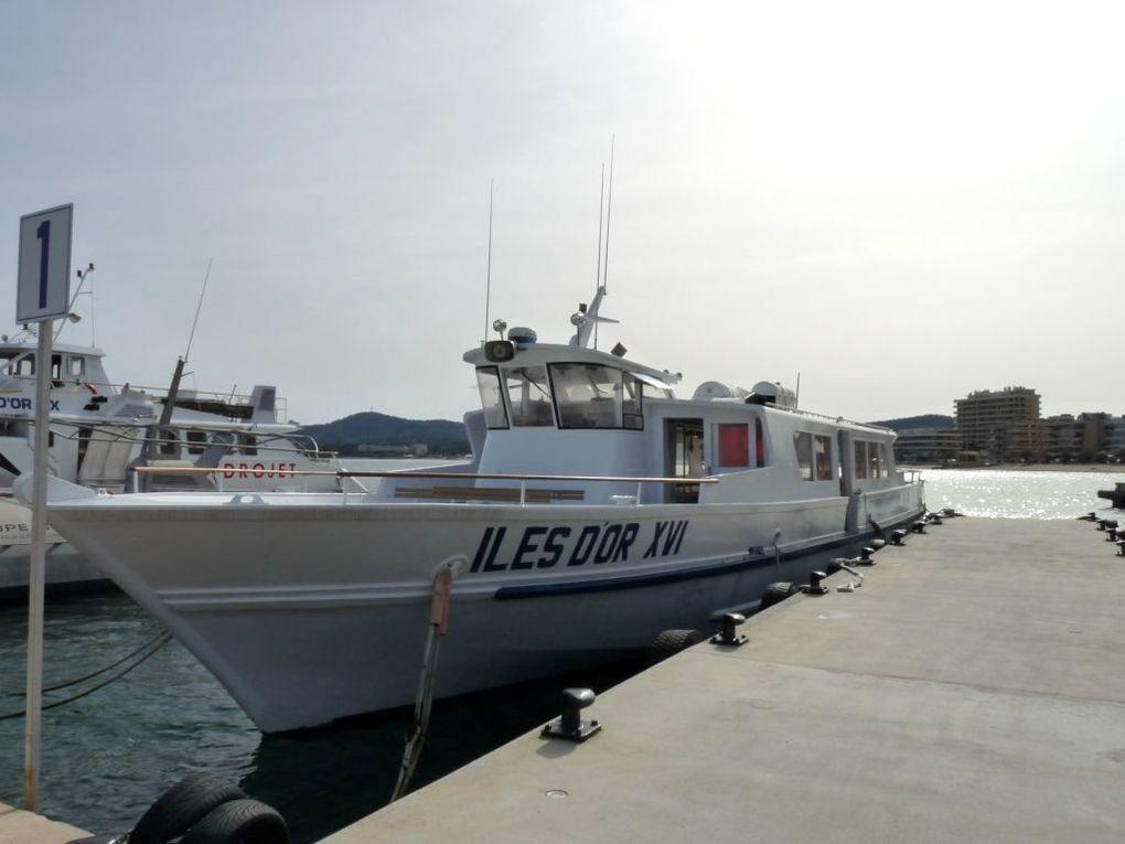 ILES D'OR  XVI , Liaison entre le continent et les iles d'Hyères au départ du Lavandou