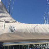 Lazybags and genoa covers - Sail-Cover.com develops a service dedicated to boat charter companies - Yachting Art Magazine