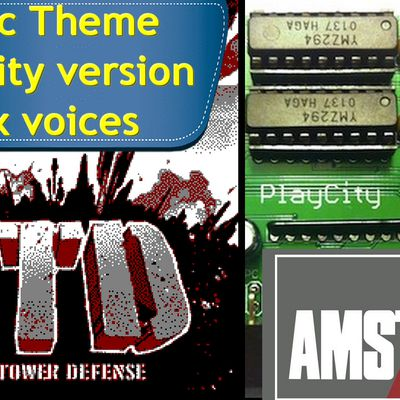 Amstrad CPC Music Theme - Open Tower Defense (PlayCity - Six Voices)