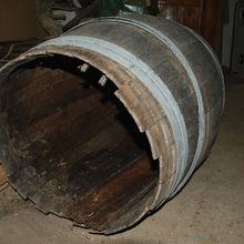 Restauration d'un tonneau