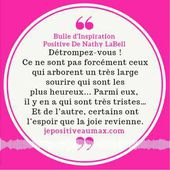 Bulle d'Inspiration Positive #2 sur le Sourire by Nathy LaBell
