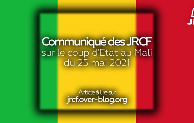 Communiqué des JRCF sur le coup d'État au Mali du 24 mai 2021
