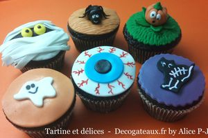 Mes cupcakes halloween version 2011