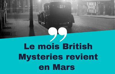 Read-a-thon British Mysteries : du 19 au 21 mars 2021