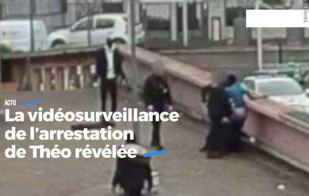 La vidéosurveillance de l'arrestation de Théo révélée #Théo