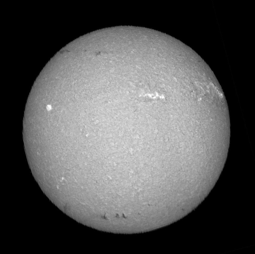 Spectroheliographe du 14 Aout 2021