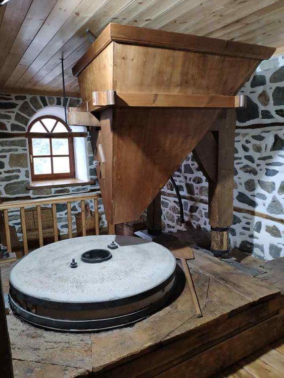 Restauration du moulin où travaillait saint Silouane au mont Athos