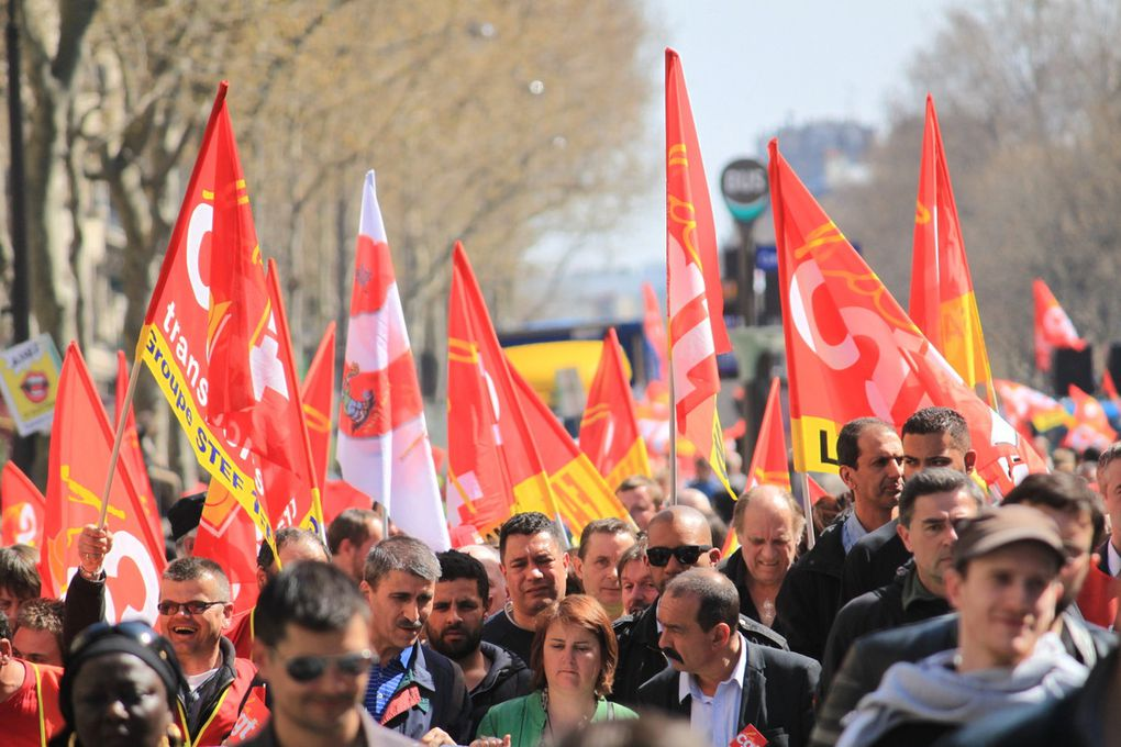 9 avril 2015 - Paris - Manifestation Nationale Unitaire (interpro)