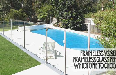 Frameless Vs Semi-frameless Glass Fence: Which One to Choose?