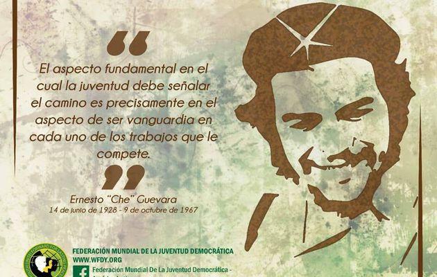 Déclaration de la FMJD sur le 51ème anniversaire de l'assassinat de Che Guevara