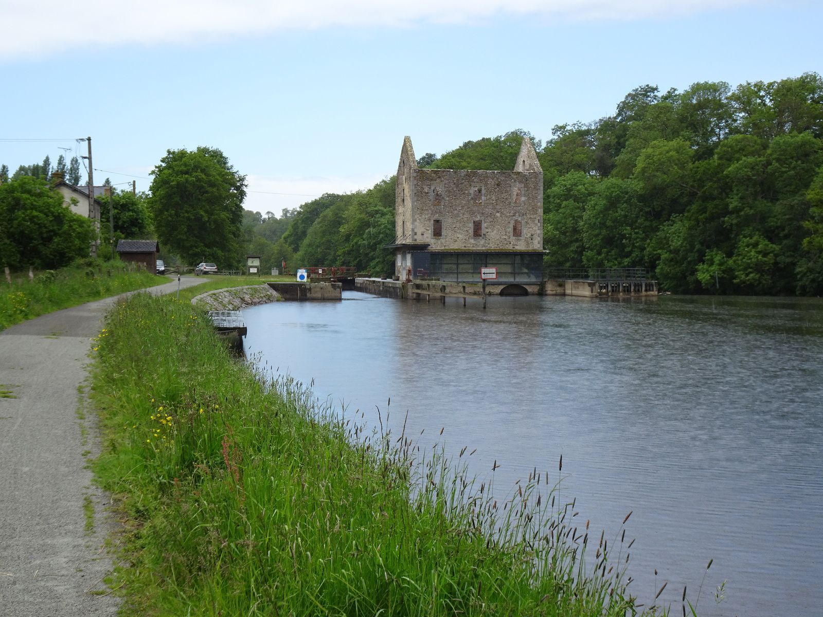Au fil de la Mayenne - Etape 4 - Moulay / St-Jean-sur-Mayenne - 46,2 km -A.R