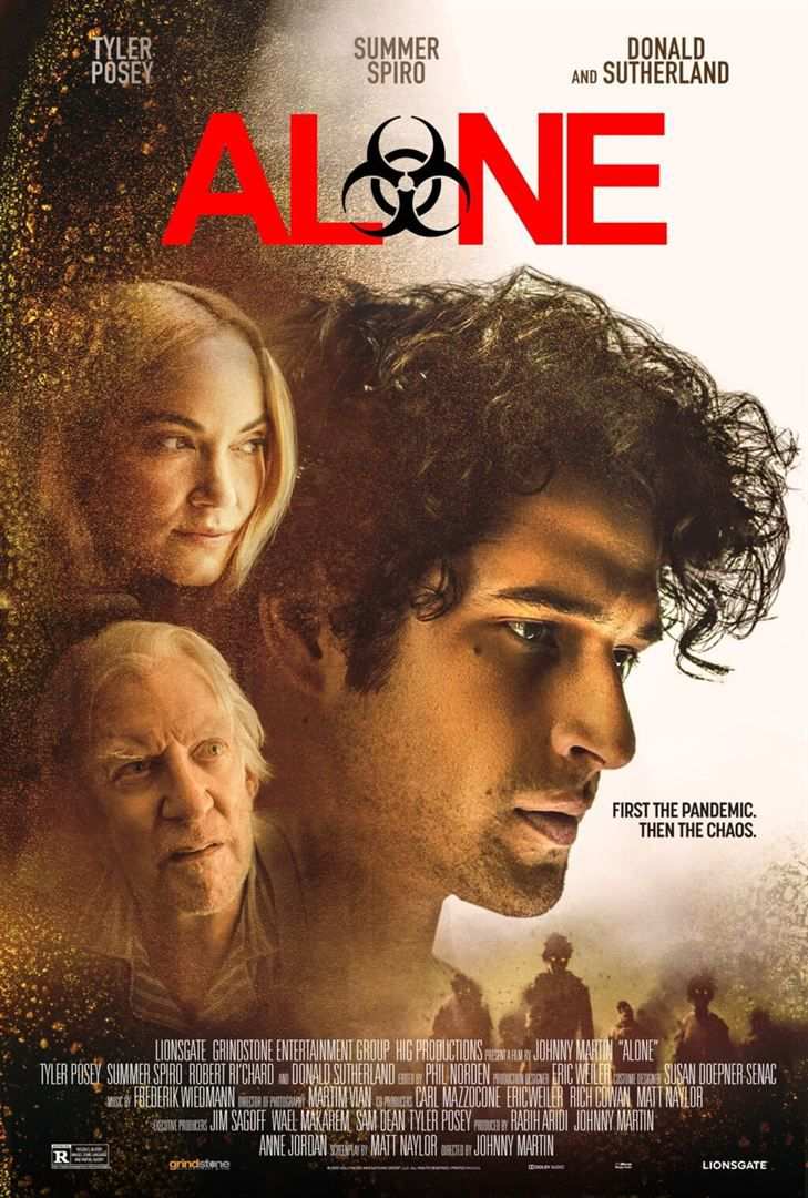 ALONE (BANDE-ANNONCE) avec Tyler Posey, Summer Spiro, Donald Sutherland