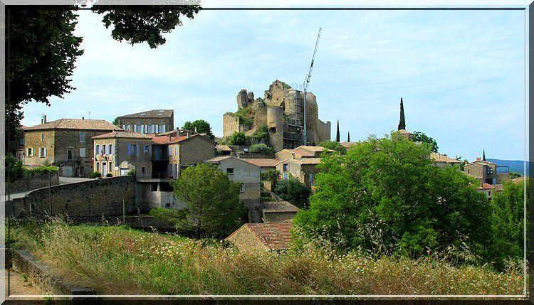 Diaporama château de Chabrillan