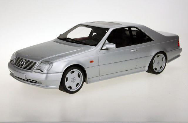 1/18 : la Mercedes CL 600 (C140) de LS Collectibles