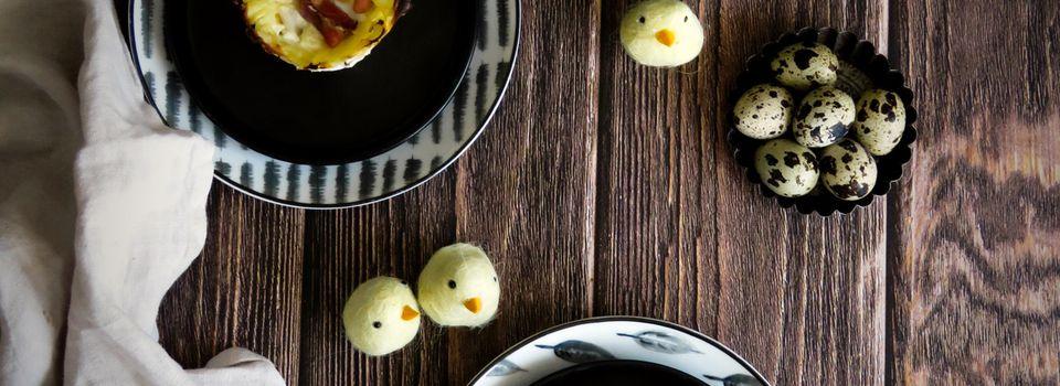 Oeufs de caille cocote en Nids de pommes de terre