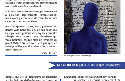Newsletter de PuppetPlays