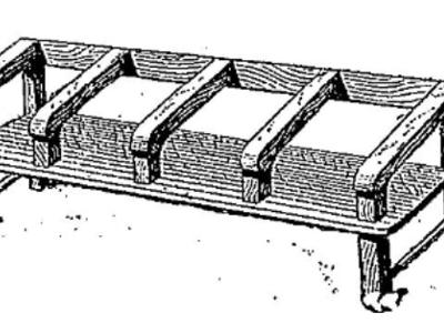 Mobilier scolaire fin 1800 - début 1900