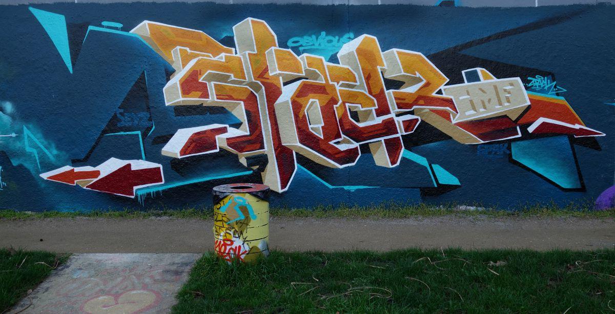 Street Art : Graffitis & Fresques Murales 94200 Ivry sur seine