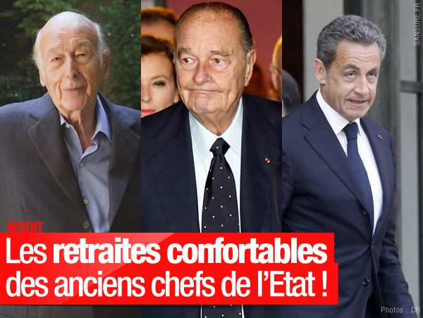 Les retraites confortables des anciens chefs de l'Etat ! #AfterElysee