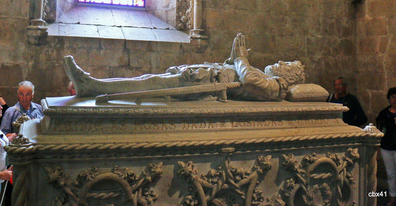 Tombeau de Luís Vaz de Camões, Monastère des Hiéronymites (Lisbonne)