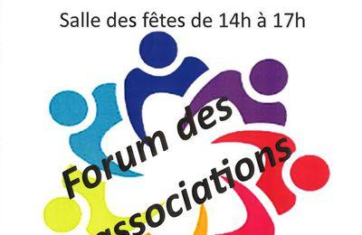 Au forum des associations d'Adé