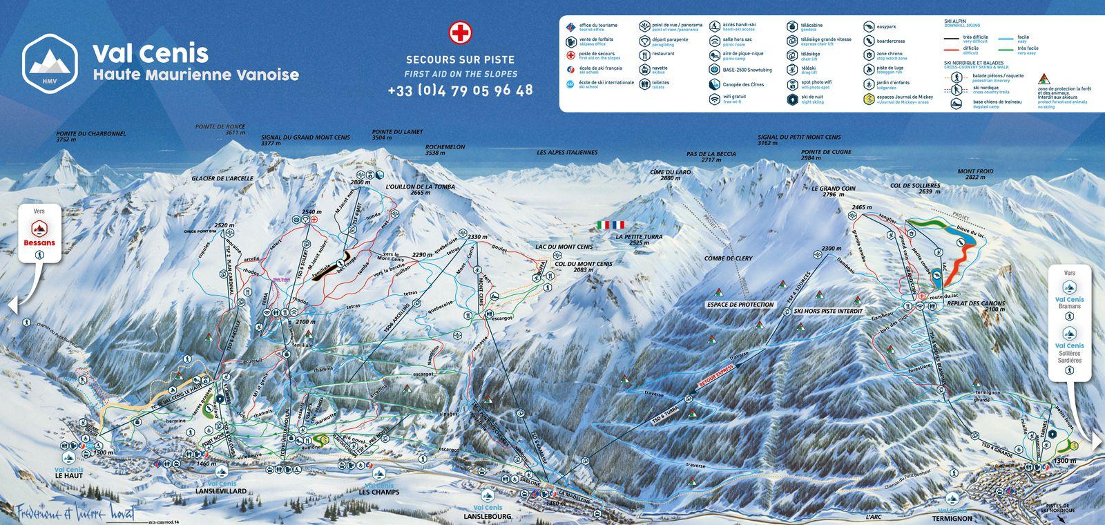 Test technique ski alpin - Val Cenis