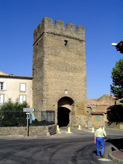 Diaporama bourg fortifié de Laure-Minervois