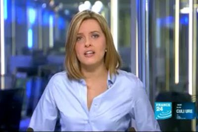 2012 03 12 @21H35 - LAURA BAINES, FRANCE 24, LIVE FROM PARIS