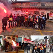 RATP Bus Croix-Nivert : la grève reconduite à 100% ! AG avec des camarades du métro, de la SNCF Montparnasse, de l'HEGP,…